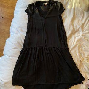 H&M linen coverup dress